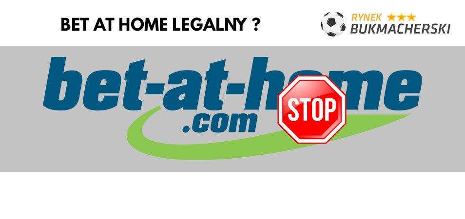 Czy Bet at home jest legalny w Polsce?