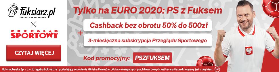 PS z Fuksem – Wspólna akcja Przeglądu Sportowego i Fuksiarz.pl!